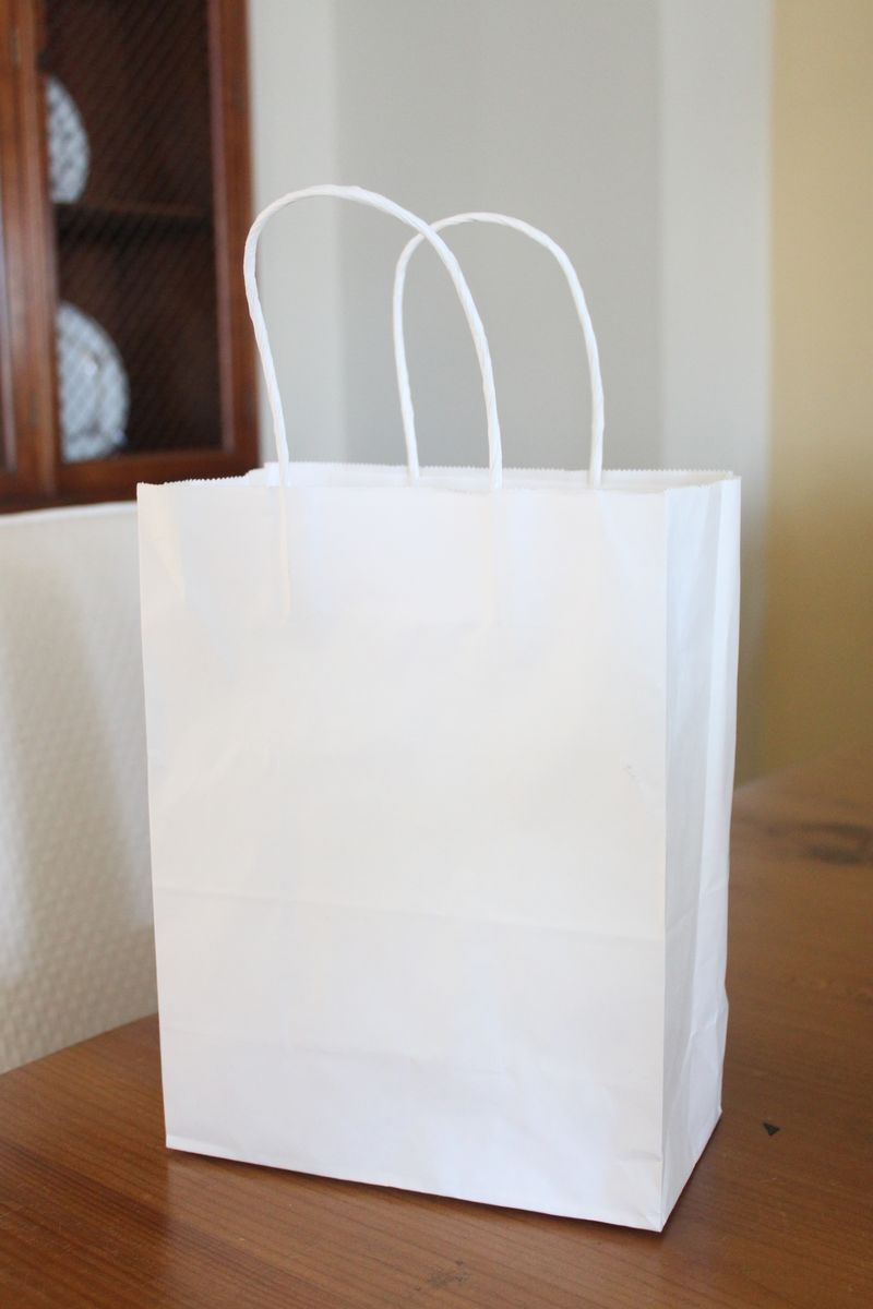 Plain White Gift Bags Ordinary To Extraordinary